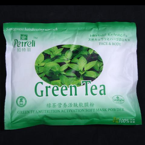 Bột mặt nạ trà xanh