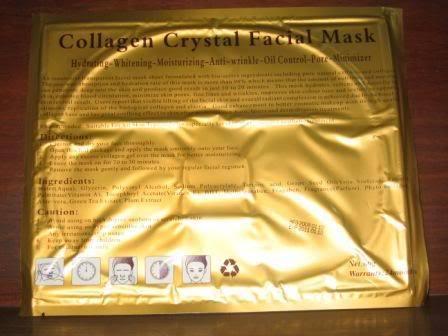 Mặt nạ Collagen dưỡng trắng da, bổ xung nước