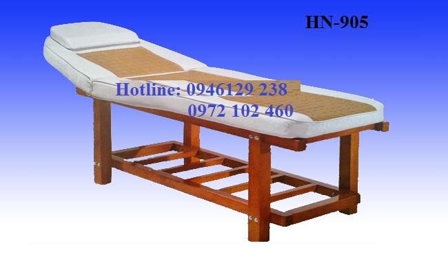 Giường massage khung gỗ HN-905