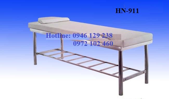 Giường Massage Khung Inox HN-911