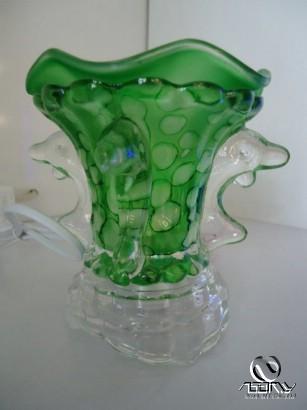 Đèn thủy tinh cách điệu (Glass Lamps TTCD-04): hình cá heo, dùng trong phòng ngủ, phòng khách...