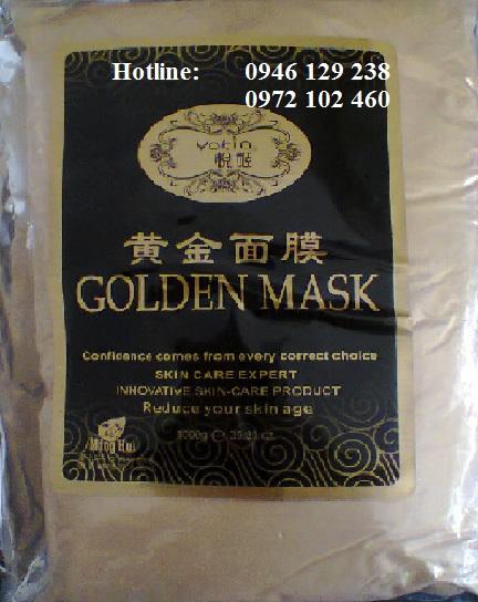 Bột mặt nạ vàng Japan 24k, đặc trị nám, trắng da cao cấp