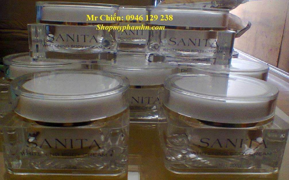 Kem dưỡng trắng da SANITA (JAPAN)