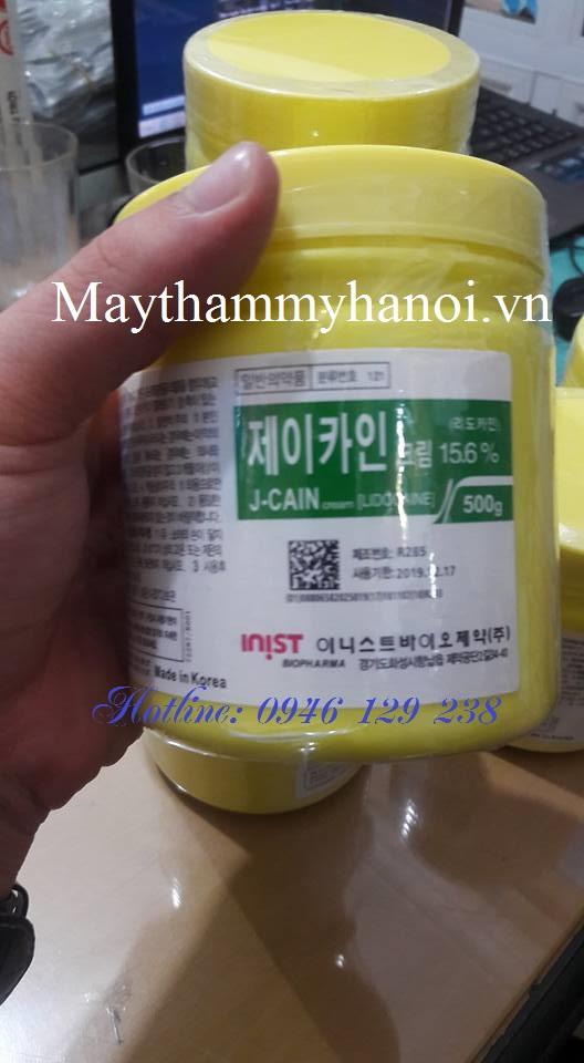 Thuốc ủ tê Hàn Quốc J-CAIN 10.56