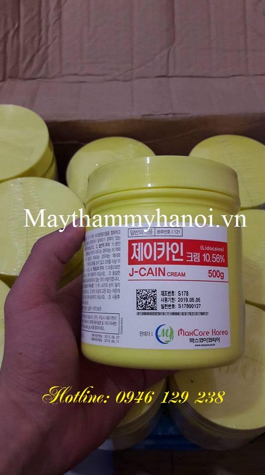 Thuốc ủ tê Hàn Quốc J-CAIN 10.56%
