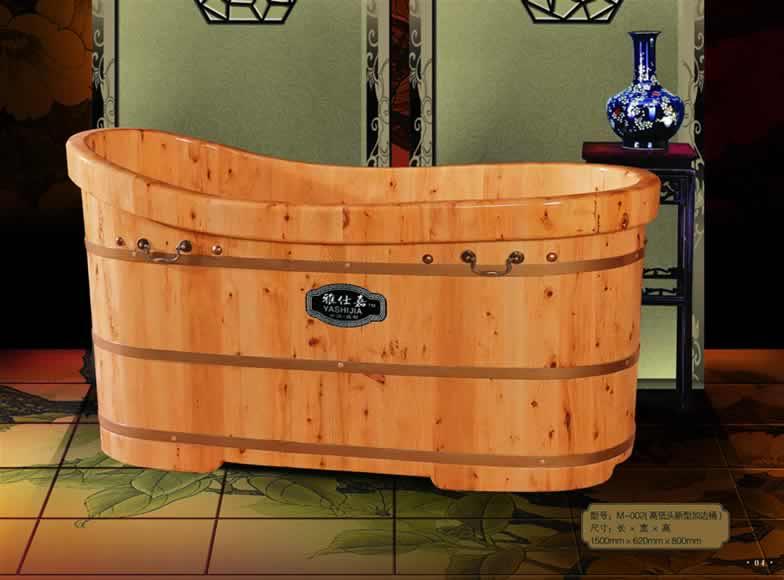 Bồn tắm gỗ thơm Pơmu
