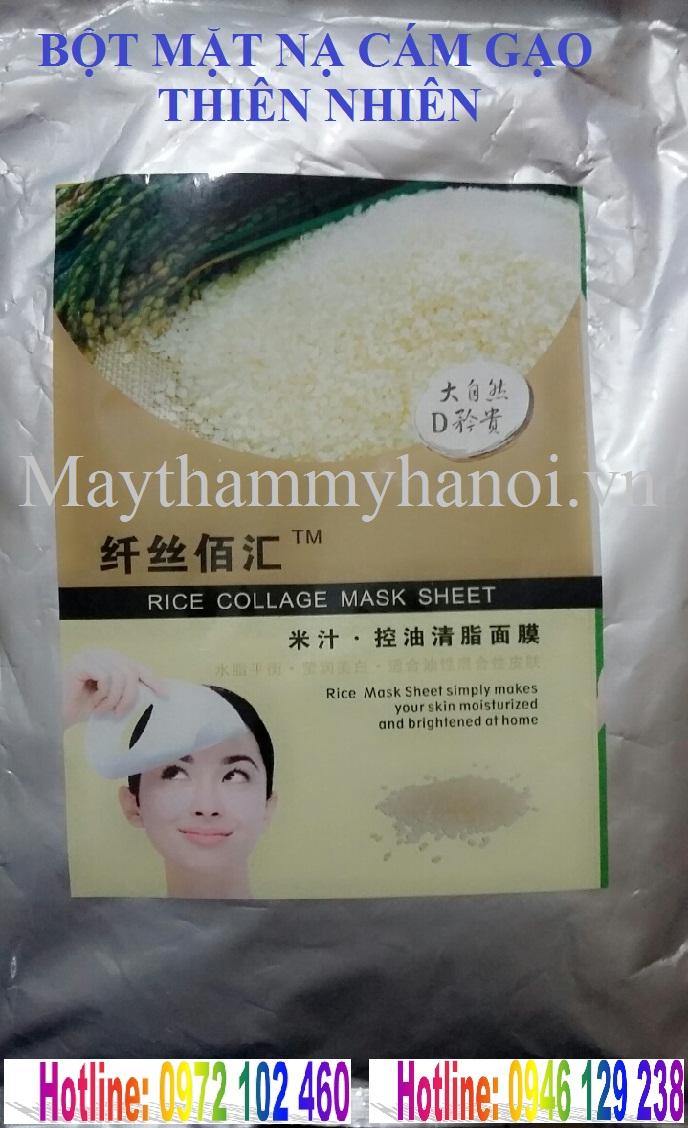 Mặt nạ bột cám gạo thiên nhiên