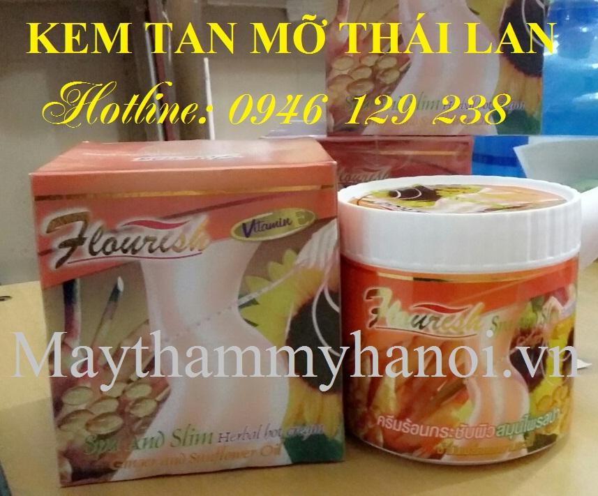 Kem tan mỡ Thái Lan Flourish