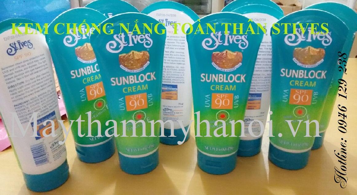 Kem chống nắng Stives sunblock