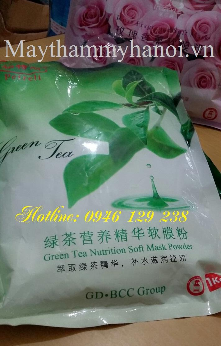 Bột đắp mặt trà xanh nguyên chất