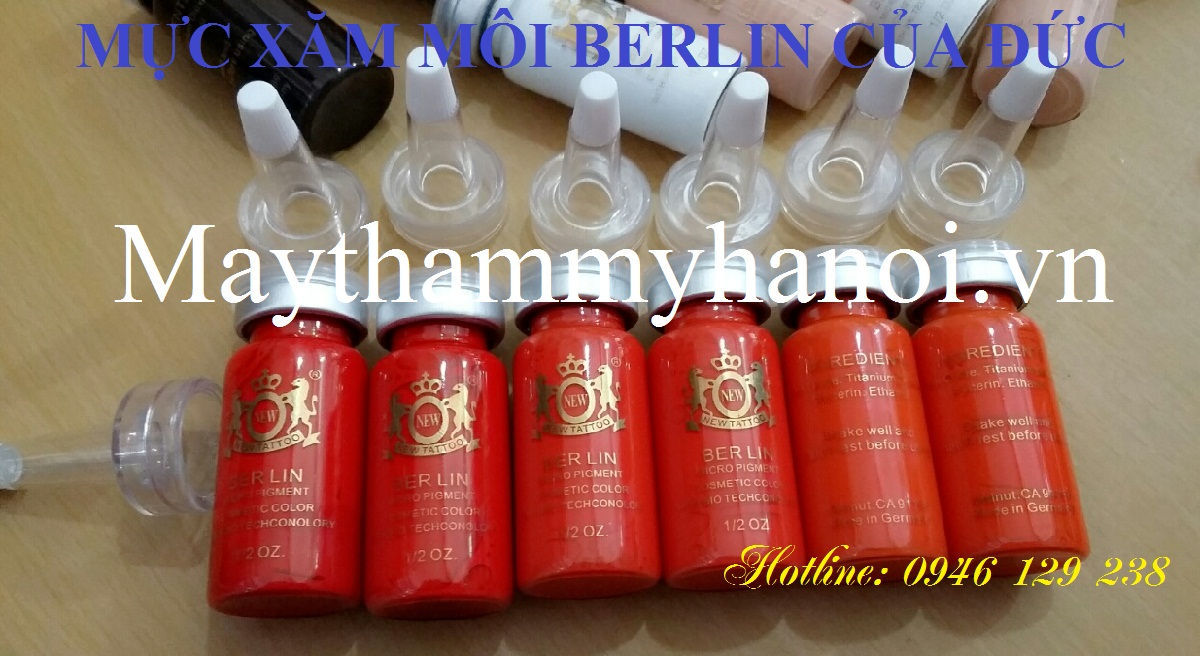 Mực xăm môi Berlin của Đức