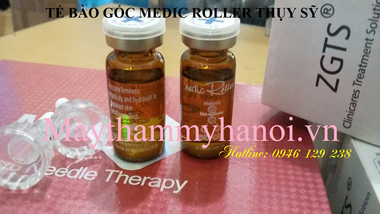 Tế bào gốc trị mụn Medic Roller