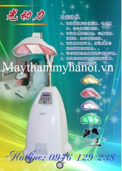 Máy ánh sáng sinh học, trẻ hóa da mặt